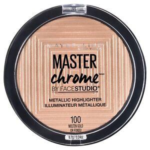 Maybelline Facestudio Master Chrome Metallic Highlighter Powder pick a shade