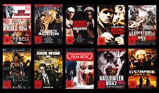 DVD-Paket mit 35 Filmen FSK18 Action Horror Kampfkunst Vampire Zombies - *NEU*