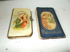 Antique prayer books French and English used condition