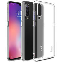 IMAK Full Transparent Crystal Clear Thin Slim Hard Cover Case For Xiaomi Mi 9