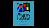 """Microsoft Windows 3.11 for Workgroups on 3.5"""" Floppy Disks (1.44 MB)"""