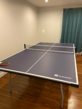 Ping Pong Tennis Table Official Size Paddles And Balls Included Indoor Foldable