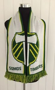 Portland Timbers SOMOS TIMBERS Scarf = MLS Soccer Scarf Soccer City