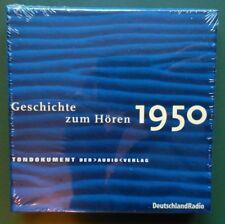 """Tondukoment """"Geschichte zum Hören - 1950"""" - 5 CD Box Hörbuch"""