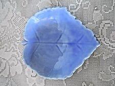 Periwinkle/Purple/Lavender Leaf Shaped Ceramic Teabag/Tea Bag Caddy/ Holder