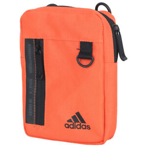 Adidas Classic Organizer Bags Messenger Shoulder Cross Bag Orange GN9871