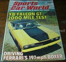 1974.Sports Car World.Ford XB FALCON GT Hardtop Road TEST.BOXER.124.MAZDA  RX2