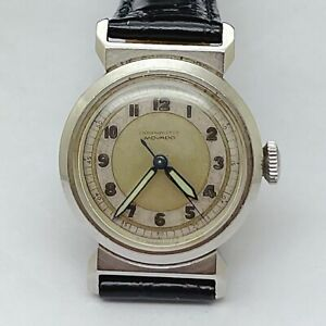 Vintage Movado Chronometre Swiss Hand Winding 15J Vintage Watch 28mm