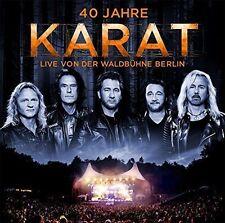 2CD*KARAT**40 JAHRE LIVE VON DER WALDBÜHNE BERLIN***NAGELNEU & OVP!!!