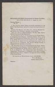 B3803 : 1865 Hilton Tête, Sc, Général Commandes #23