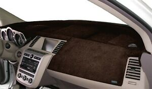 Fits Infiniti I30 I35 2001-2004 Velour Dash Board Cover Mat Dark Brown