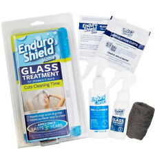 EnduroShield Home GLASS TREATMENT KIT Showers REPELS HARD WATER SOAP SCUM GRIME