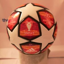 Adidas Liga de Campeones de Madrid 2019 final Mini Bola, Talla 1, DN8684