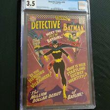 Detective Comics 359 cgc 3.5 ~ First Barbra Gordon Batgirl ~ 1967