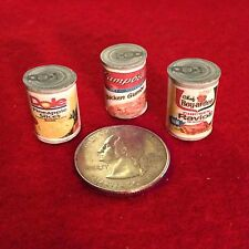 "1:6 Handmade miniature for 11""-12"" size dolls - Canned food #9"
