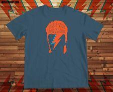 David Bowie Aladdin Sane New t-shirt Ziggy Stardust FACE THE STRANGE blackstar