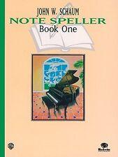 Schaum Note Spellers Book 1 (Schaum Method Supplement) by John W. Schaum, (Paper