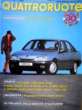 Quattroruote 372 1986 Future Alfa Romeo. Inchiesta sulle 'Thema Ferrari' [Q81]