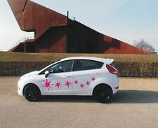7 Stück Autoaufkleber-Farbklecks in diversen Farben & Größen - Sonderangebot!!!