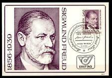 Begründer der Psychoanalyse Doktor Sigmund Freud.Maximumkarte(2).Österreich 1981