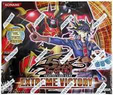 Extreme Victory 1st Edition Booster Box English Yugioh - Brand New Sealed