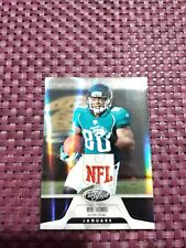 mike thomas 2011 certified mirror black prime jersey patch jaguars (1/1)