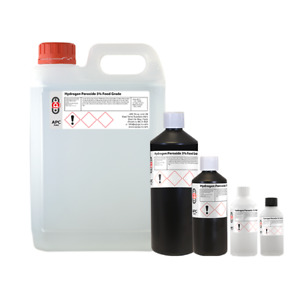 Hydrogen Peroxide 3%, 6%, 9%, 12% All Sizes - Shipped Same Day