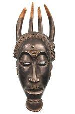 Art Africain Arts Premiers - Ancien Masque Baoulé - African Baule Mask - 42 Cms
