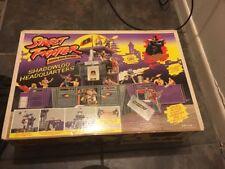 *RARE* 1994 Street Fighter Gi Joe Shadowloo Headquarters Sealed Mib Hasbro