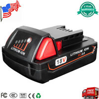 For Milwaukee M18 18V 18-Volt Lithium-Ion 48-11-1820 2.0 Ah Compact Battery M18B