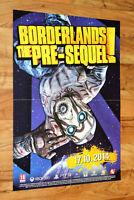 Borderlands The Pre-Sequel rare Promo Poster 59x42cm Xbox 360 One PS 3 PS 2 PS4
