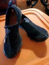 Easy Spirit Esreachfor e360 Black Sneakers Slip On Casual Shoes Womens  7.5 NEW
