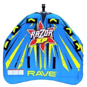 NEW Rave Sports 02642 Razor XP Inflatable Three Rider Towable Water Tube