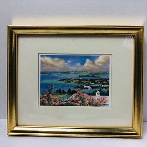 Mary Powell Print by Island Press Bermuda 1995 South Hampton Bermuda