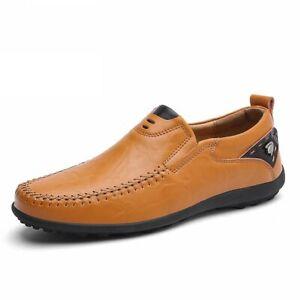 Men Casual Shoes Men Loafers Shoes Mens Shoes Leather Men's Flats Shoes
