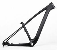 NEW 29er Mountain Bike Frame Carbon Fiber Cycling BSA Frameset Bicycle Frames