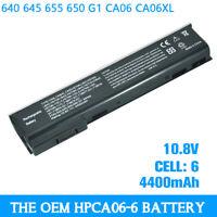 OEM Laptop Battery 4400mAh for HP ProBook 640 645 655 650 G1 CA06 CA06XL
