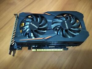 Gigabyte Nvidia GeForce GTX 1050 2GB GPU VRAM Graphics Card PC Gaming Used