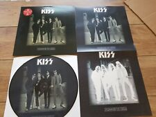 KISS - DRESSED TO KILL - RARE RE-ISSUE PICTURE DISC LP + POSTER + STICKER NEW