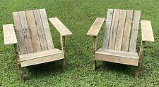 Repurposed Wood Adirondack Chairs Building Plans
