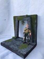 1/12 Custom Jungle Tomb Entryway MOTU G.I. Joe Mezco NECA Marvel