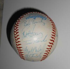 1989 ? Toronto Blue Jays Team-Signed Baseball