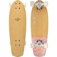 "SKATEBOARD CRUISER Classic Mini SURF RIDE 66 cm 26"" FREERIDE Street GIRL Pink"