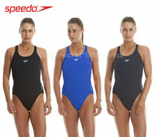 Speedo Polyester Patternless Swimwear for Women