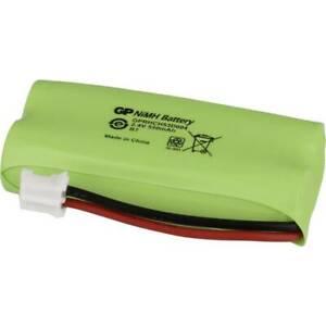 Batterie pour téléphone sans fil NiMH 2.4 V GP Batteries 220382C1 550 mAh