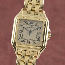 Cartier Panthere Lady 18K (0,750) Gelbold Damenuhr Saphirglas Ref. 8839 Gold