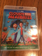 Cloudy With a Chance of Meatballs 3d Blu-ray (2010)