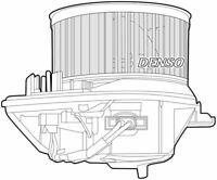 Denso Cabine Ventilateur / Moteur Pour A Citroën Zx Hatchback 1.9