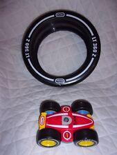 "Little Tikes Z Wheel 12""x 5"" Remote Control Car 7"" Heavy Duty Toy"