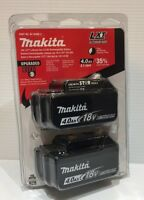 Genuine Makita BL1840B-2 18V LXT Lithium-Ion Battery Pack 4.0Ah Retail Package.